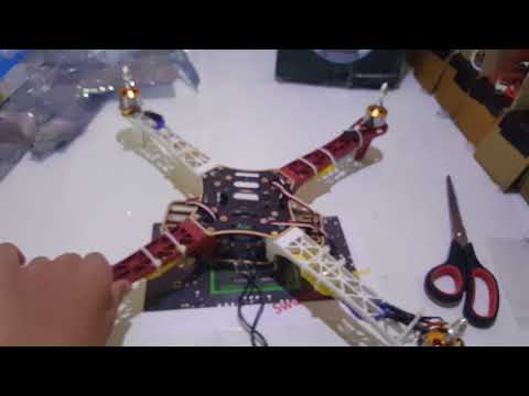 How to make a F450 Drone part 1 in  (HINDI)