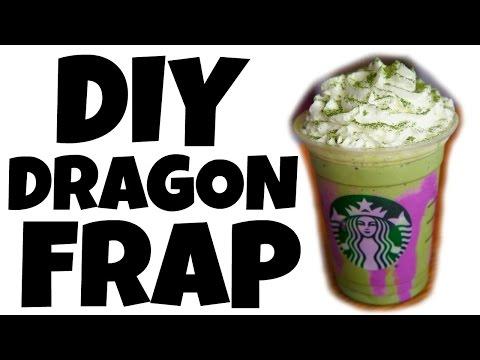 DIY DRAGON FRAPPUCCINO - Starbucks off menu recipe