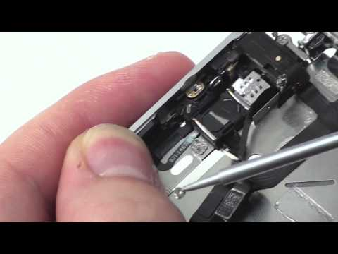iPhone 4S Powerbutton - Proximity & Ambient Sensor - Ear Speaker Install