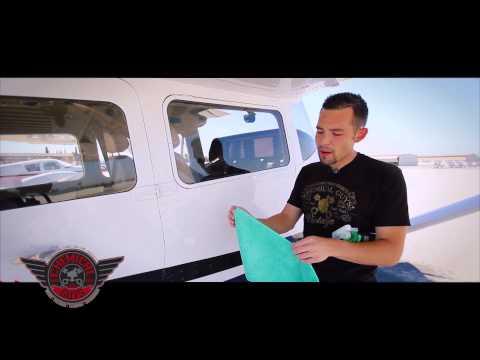 How To: Clean Plexiglass & Plastic Window - Airplane Detailing Car Care Cessna