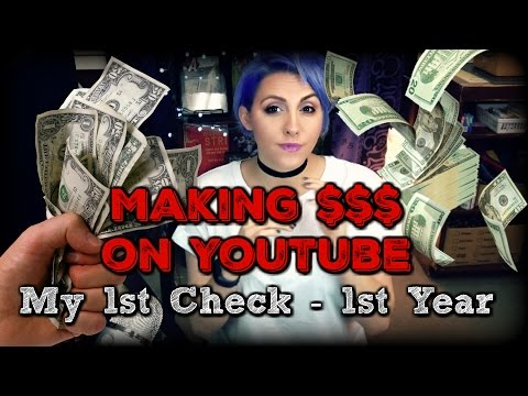 First YouTube Pay Check | How Much Money After a Year | AdSense Earnings