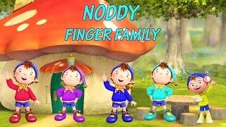 Noddy Finger Family | Cartoon Nursery Rhymes & Songs For Children
