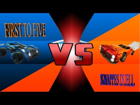Rocket League | First to Five | Knappes Duell!!!! | VS Beck (PS4)