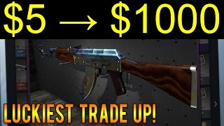 AK-47 CASE HARDENED TRADE-UP ( 5% CHANCE) 3 ATTEMPTS!!! | Daikhlo