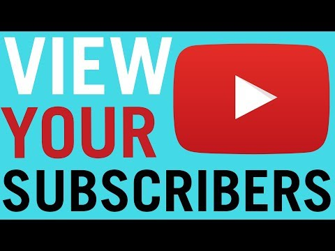 How To Check Who is Subscribed To You on Youtube