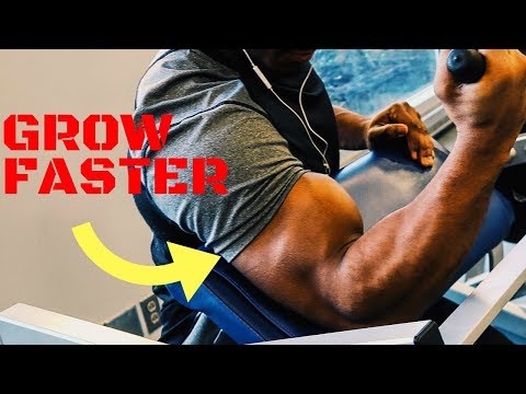 Building Bigger Biceps | How To INCREASE Size Width & Peak In Your Arms