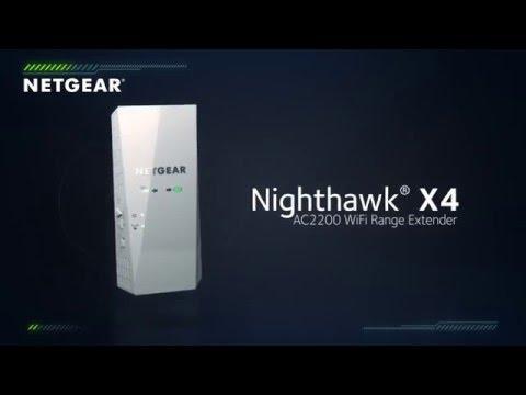 NETGEAR Nighthawk® X4 AC2200 WiFi Range Extender Product Tour
