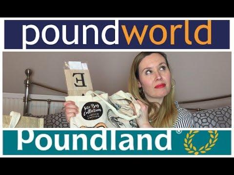 Poundland & Poundworld Haul!   February 2018   My Fashion Cupboard Baby