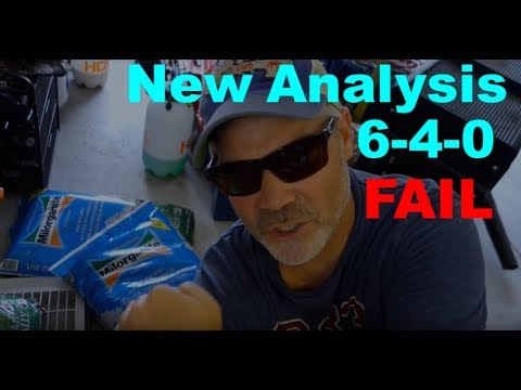Milorganite New Formula - FAIL!