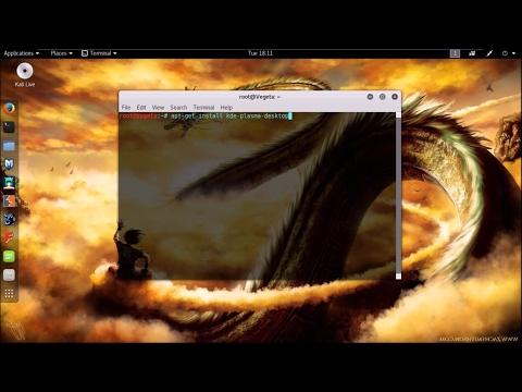 How to uninstall Kde Plasma Desktop completely! ( Kali Linux 2017)