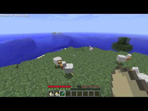 Minecraft: Moar Eggs Mod (Eggs Spawn Chickens; Chickens Drop Eggs)