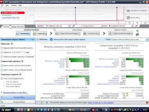 ANTS Memory Profiler 5: How to find a memory leak (1 of 2)