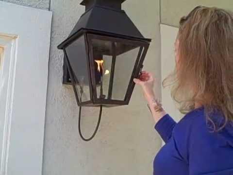 Natural Gas Lanterns Outdoor