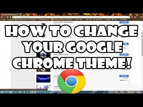 How to Change Your Google Chrome Theme!
