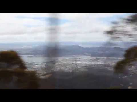 Driving Down From Mount Wellington