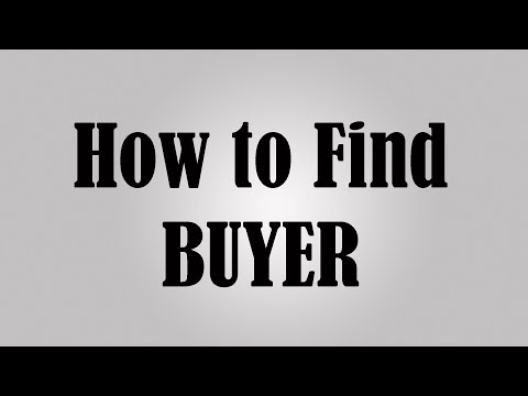How to find buyers for Export and Import