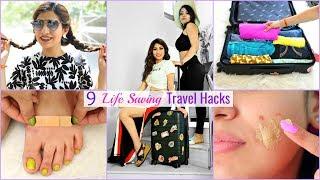 9 LIFE Saving TRAVEL Hacks You Must Know | #Travel #Trip #Journey #Anaysa