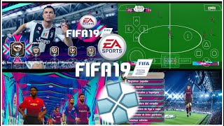 PES chelito 19 V6 PPSSPP (TEXTURES FIFA 19)