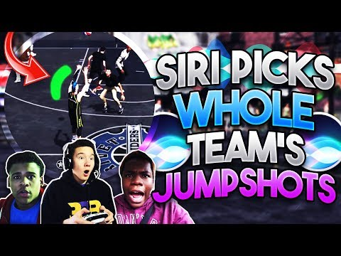 SIRI PICKS THE WHOLE TEAM'S UGLY JUMPSHOTS!! New Best Jumpshot in NBA 2K18!?
