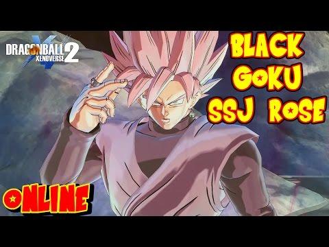 DRAGON BALL XENOVERSE 2 : BLACK GOKU SUPER SAIYAJIN ROSE EL PERSONAJE MAS FUERTE DEL JUEGO ONLINE