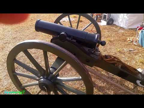 Real Confederate Mountain Howitzer