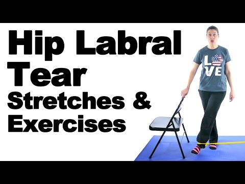 Hip Labral Tear Stretches & Exercises - Ask Doctor Jo