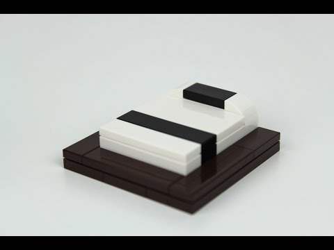 How to Build a LEGO Modern Bed