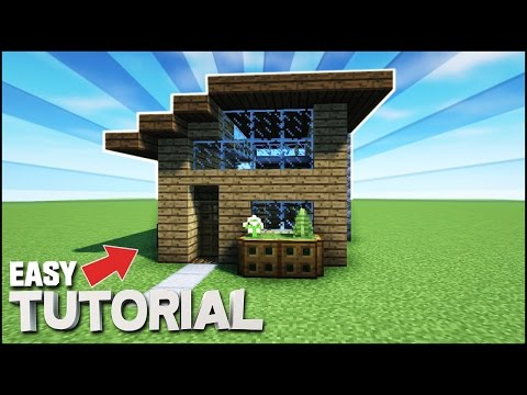Minecraft: How To Build A Small Survival/Starter House