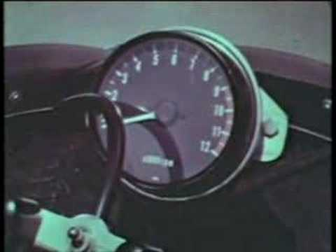 Kawasaki Z1 1973 World Speed Record Part 1 of 2