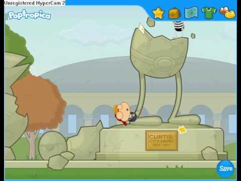 Poptropica- Super Powers- Part 3 [Boss Sir Rebral]