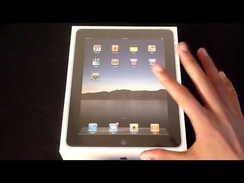 Apple iPad Unboxing & Overview (UK 32GB WiFi)