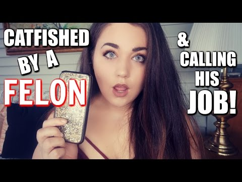 CATFISHED BY A FELON ON TINDER!
