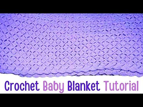 Crochet Shell Baby Blanket-Afghan Tutorial - Crochet Jewel