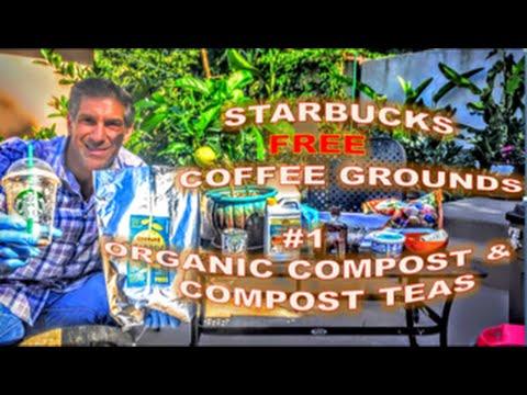 Starbucks FREE Coffee Grounds  |  #1 Organic Compost & Compost Teas For Healthy & Balanced Plants