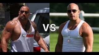 The Rock vs Vin Diesel Tensión en el Set de Fast and Furious 8