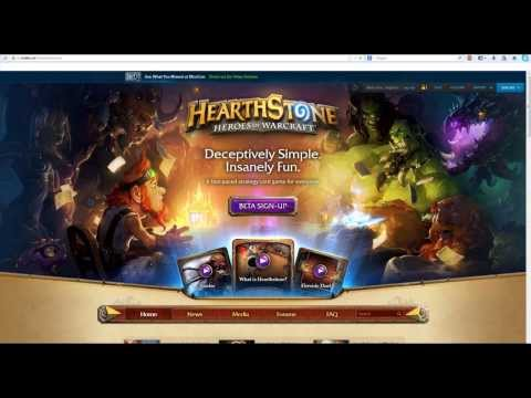 How to Get Hearthstone Beta key
