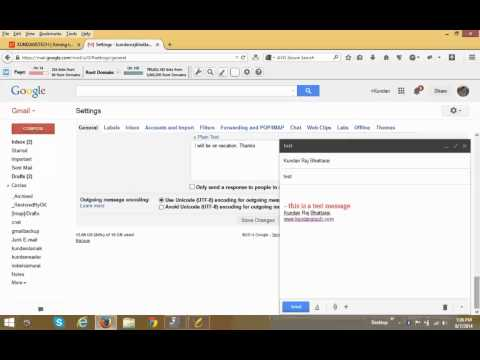 How to recall a sent message in Gmail