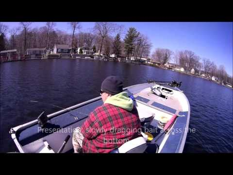 Solitary Sportsman episode 1: Springtime perch fishing.
