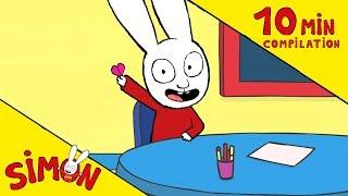 Simon - Compilation APPRENDS AVEC SIMON HD [Officiel] Dessin animé pour enfants
