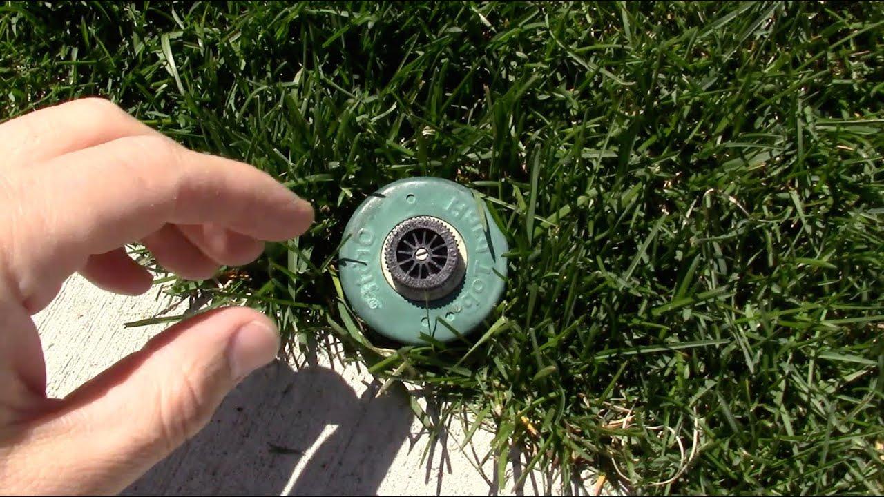 How to replace a sprinkler spray head