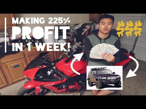 How To Flip Cars For 225% Profit In 1 WEEK | Buy and Sell Cars 101