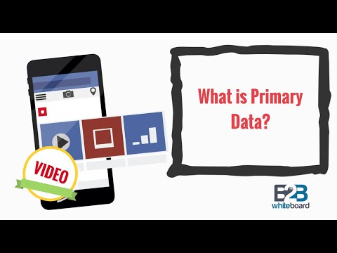 What is Primary Data?