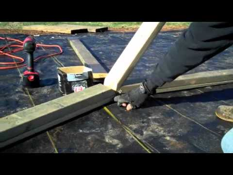 BUILDING A WOODEN GEODESIC DOME - PART 5 - ASSEMBLY