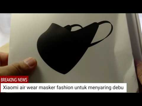 XIAOMI air wear masker keren untuk menyaring debu