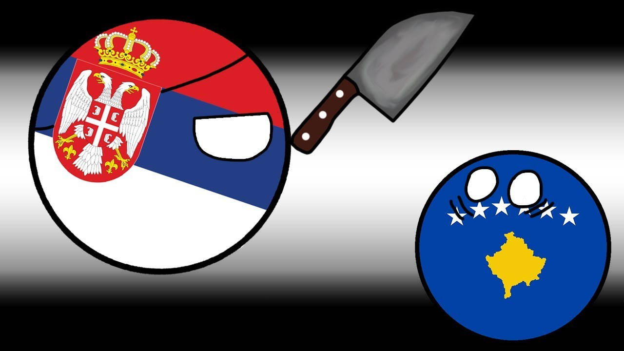 Kosovo is Serbia How to Defeat Serbia? [Countryballs Animation]