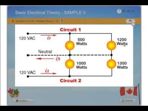 Basic Electrical Theory - Practice Exam - Journayman 309A, Master 442A ESA-CEC