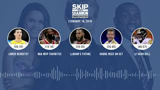 UNDISPUTED Audio Podcast (2.16.18) with Skip Bayless, Shannon Sharpe, Joy Taylor | UNDISPUTED