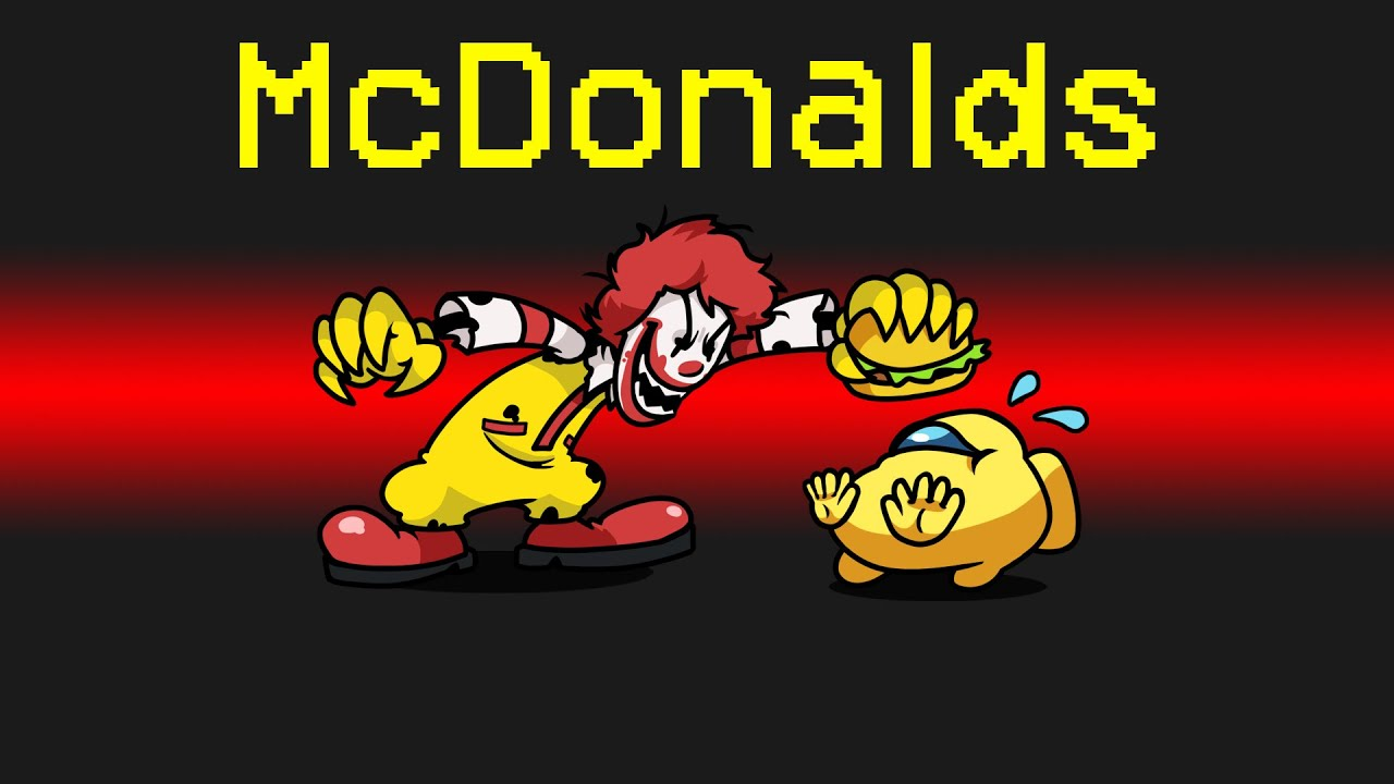 MCDONALDS Imposter Role in Among Us...