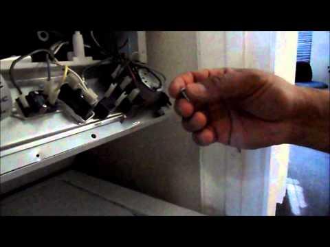 How to repair a KENMORE double decker washer&dryer BROKEN DRYER BELT PART 2