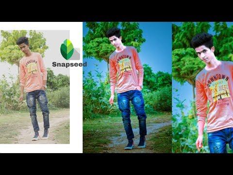 Snapseed Very Easy Stylish Photo Editing || Snapseed Photo Editing